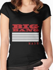 BigBang Made Women's Fitted Scoop T-Shirt