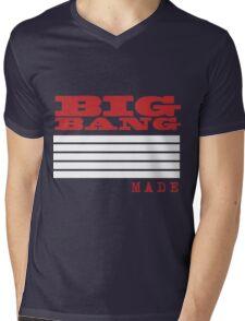 BigBang Made Mens V-Neck T-Shirt