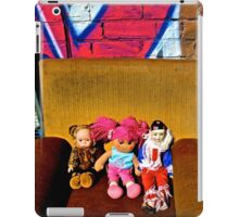 Back Alley Chair Gang iPad Case/Skin