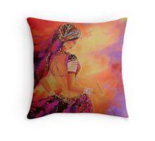Swirl-3 Throw Pillow