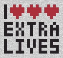 Extra Lives Kids Clothes
