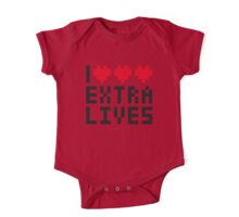 Extra Lives One Piece - Short Sleeve