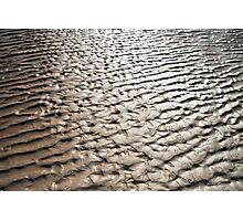 Mud flats Photographic Print