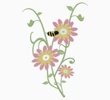 Little Bee .. an enchanting tee shirt One Piece - Short Sleeve
