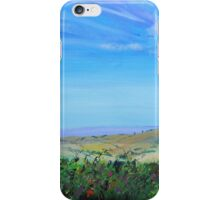 Devon Countryside Painting iPhone Case/Skin
