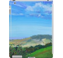 Devon Countryside Painting iPad Case/Skin