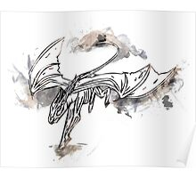 Harry Potter Thestral (Flying) Poster