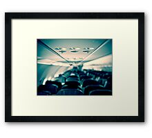 Flight in flight Framed Print