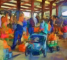 Saturday at the Farmers' Market by suzannem73