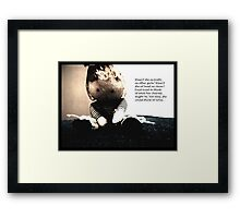 The Eleventh. Framed Print