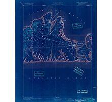 Massachusetts  USGS Historical Topo Map MA Marthas Vineyard 352838 1894 62500 Inverted Photographic Print