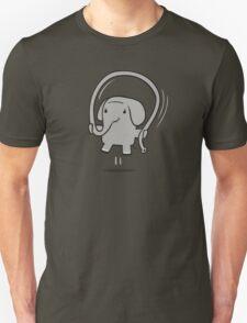 Skipping Elephant Unisex T-Shirt