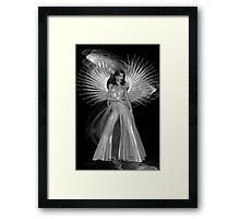 Devil or Angel .. fantasy art Framed Print
