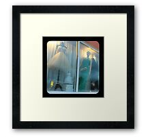 TTV-window dressing Framed Print