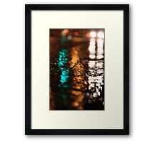 Street Water Framed Print