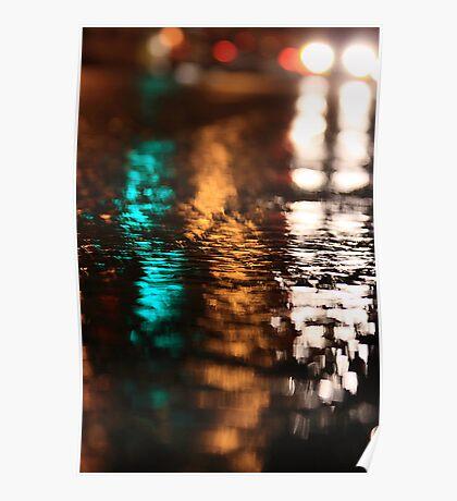Street Water Poster