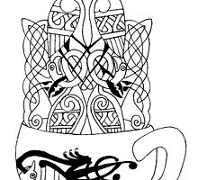Celtic Coffee by redqueenself