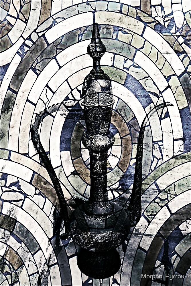 aladdin's magic lamp by Morpho  Pyrrou