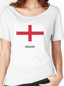 English Women's Relaxed Fit T-Shirt