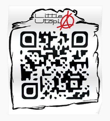 Little Utopia QR Code Poster