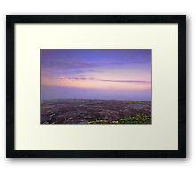Sullivan Rock - Western Australia  Framed Print