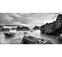 broadsands rocks Photographic Print