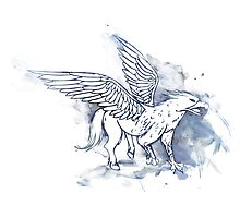 Buckbeak the Hippogriff Photographic Print