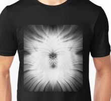 White and Black Enlightenment Abstract Unisex T-Shirt