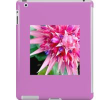 Bromeliad Flower - Pink Aechmea  iPad Case/Skin