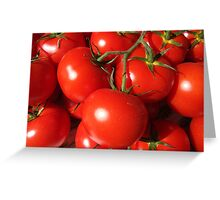 Tomatoes in Colour Greeting Card