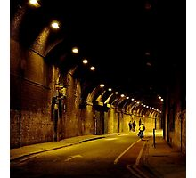 TUNNEL LONDON Photographic Print