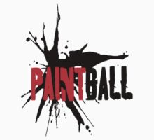 Paintball blackred (solid) by Frank Primeau