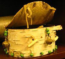 Birch Bark Container 1 by Austen Brauker
