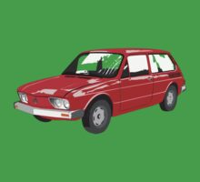 VW Brasilia Red by MangaKid