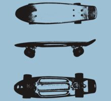 The skateboard One Piece - Short Sleeve