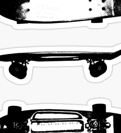The skateboard Sticker