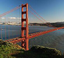 Golden Gate Bridge by AbstractCreatur