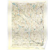 Massachusetts  USGS Historical Topo Map MA Blackstone 352496 1900 62500 Poster