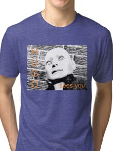 Hugo Sees You Tri-blend T-Shirt