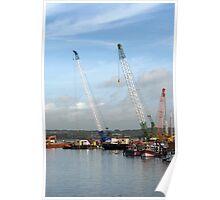 Poole Docks Poster