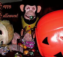 Happy Halloween from Musical Jolly Chimp by Margaret Bryant