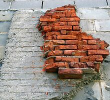 Bricks On The Wall by David Schroeder