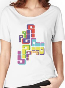 colourful questions Women's Relaxed Fit T-Shirt