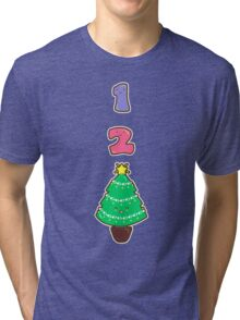 Count to Christmas Tri-blend T-Shirt