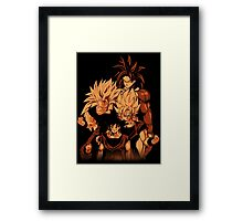 Sayan Forms. Framed Print