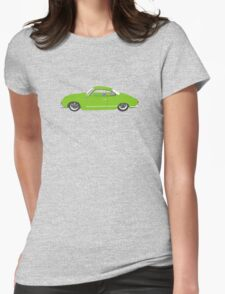 Green Karmann Ghia Tshirt Womens Fitted T-Shirt