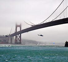 The Golden Gate Bridge by AbstractCreatur