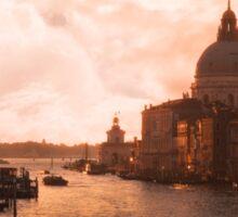 Dawn in Venice Sticker