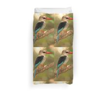 Brown-hooded Kingfisher Duvet Cover