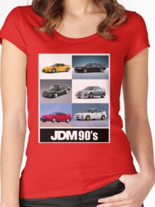 JDM 1990 Women's Fitted Scoop T-Shirt